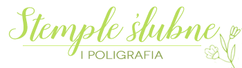 logo stemple slubne